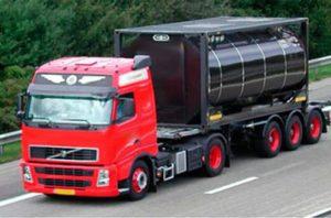 Перевозка танк-контейнеров автомобильным транспортом