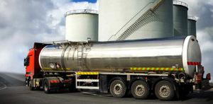 Перевозка кислот автомобильным транспортом