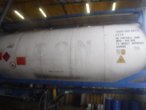 Танк-контейнер T11 (BBRU 0000911) — 24 000 литров