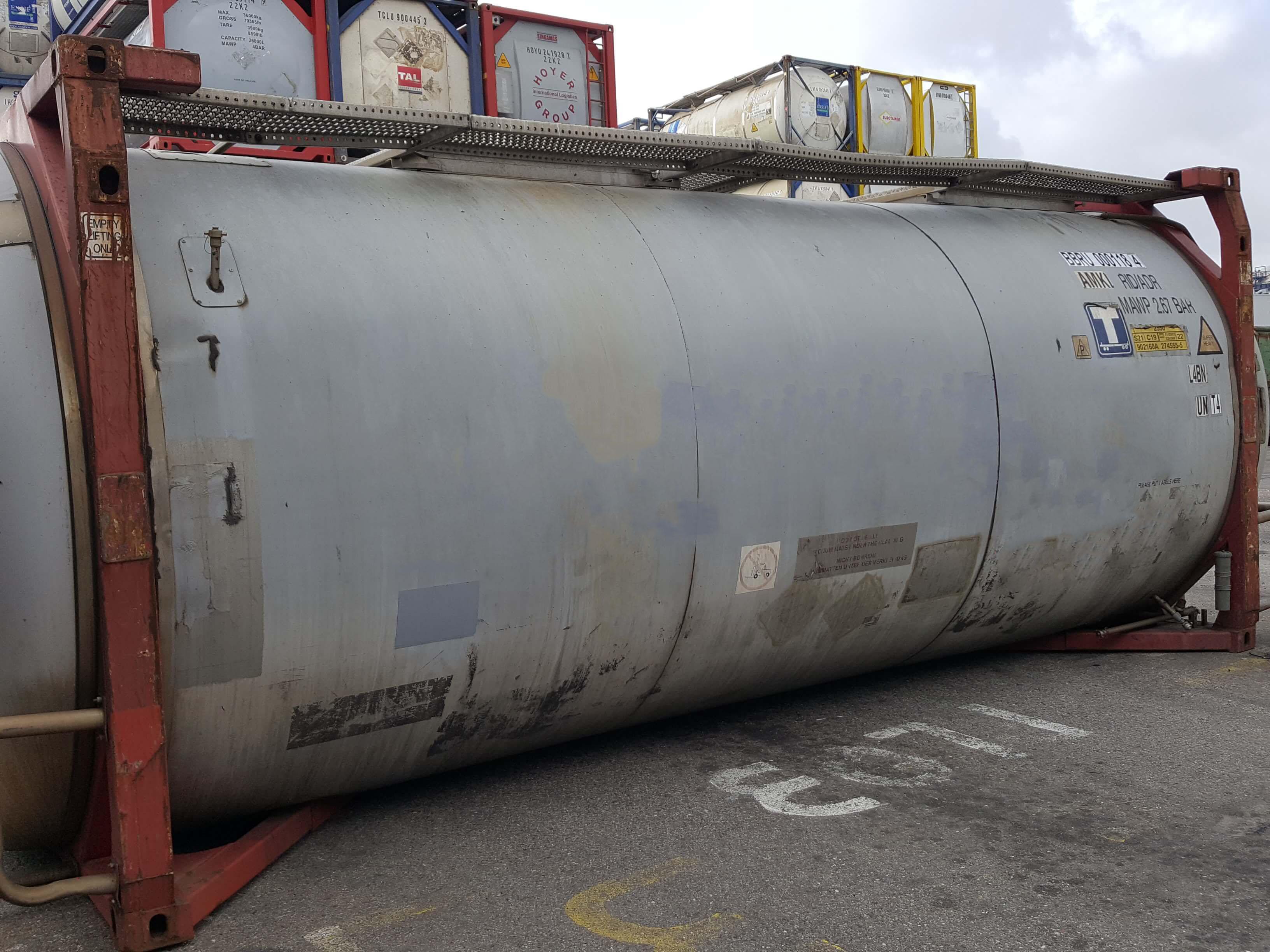 Купить танк-контейнер T11 (BBRU 0001184) на 30 840 литров