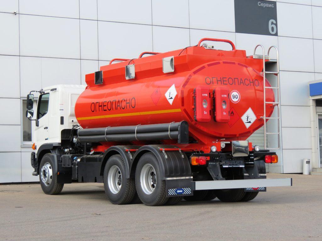 перевозка химических грузов автомобильным транспортом