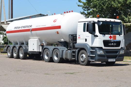 Картинка перевозка сжиженного газа